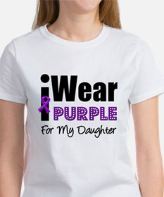 Purple Ribbon Daughter Tee