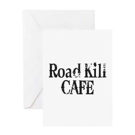 Road Kill Cafe Greeting Card
