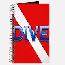 Big Blue Dive Flag Journal