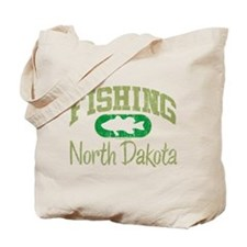 FISHING NORTH DAKOTA Tote Bag