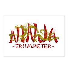 Dragon Ninja Trumpeter Postcards (Package of 8)