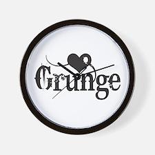Love Grunge Wall Clock