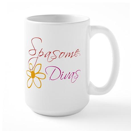 Spasome Divas Large Mug