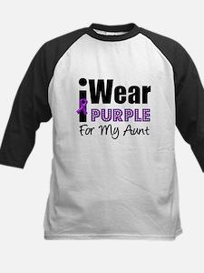 Purple Ribbon Aunt Tee