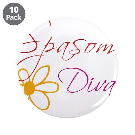 "Spasome Divas 3.5"" Button (10 pack)"