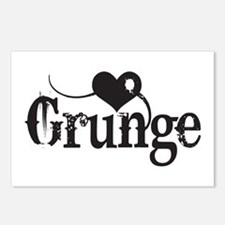 Love Grunge Postcards (Package of 8)