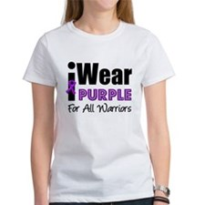 Purple Ribbon Warriors Tee