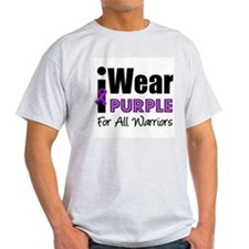 Purple Ribbon Warriors T-Shirt