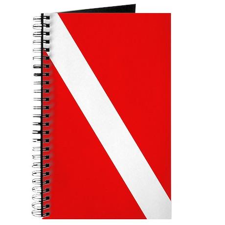 Scuba Diving Dive Flag Journal