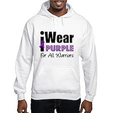 Purple Ribbon Warriors Hoodie
