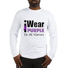Purple Ribbon Warriors Long Sleeve T-Shirt