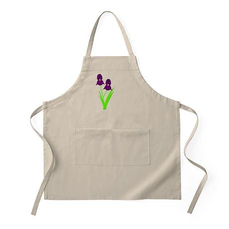 Irises BBQ Apron