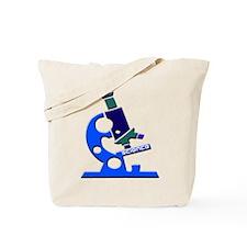 Science Microscope Tote Bag