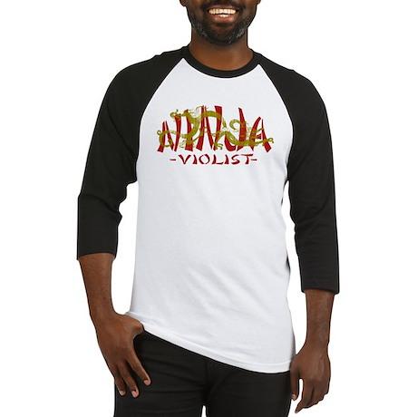 Dragon Ninja Violist Baseball Jersey