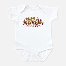 Dragon Ninja Violist Infant Bodysuit