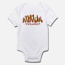 Dragon Ninja Violinist Infant Bodysuit