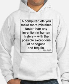 Computers and Tequila Hoodie