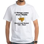 2 Things White T-Shirt