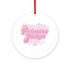 """Princess Jadyn"" Ornament (Round)"