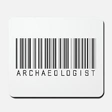 Archaeologist Barcode Mousepad