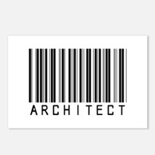 Architect Barcode Postcards (Package of 8)