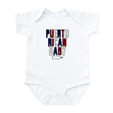 New Puerto Rican Baby Infant Bodysuit