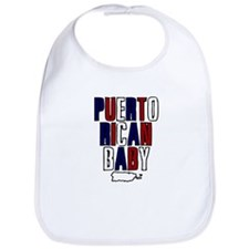 New Puerto Rican Baby Bib