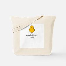 Norfolk Terrier Chick Tote Bag