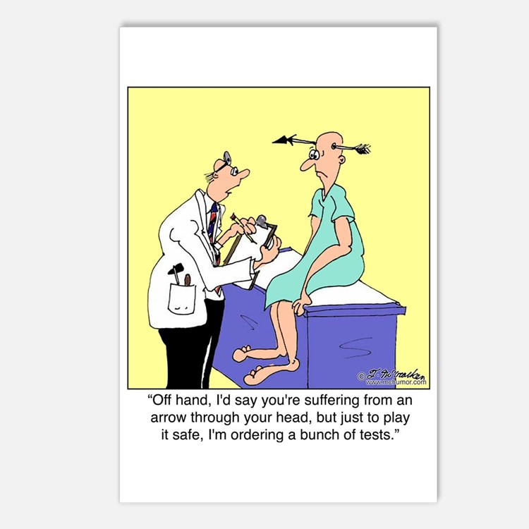 More Medical Tests Postcards (Package of 8)