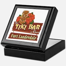 Ft. Lauderdale Tiki Bar - Keepsake Box