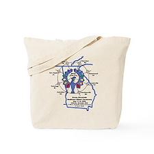 Stone Mountain Thunderbird Tote Bag