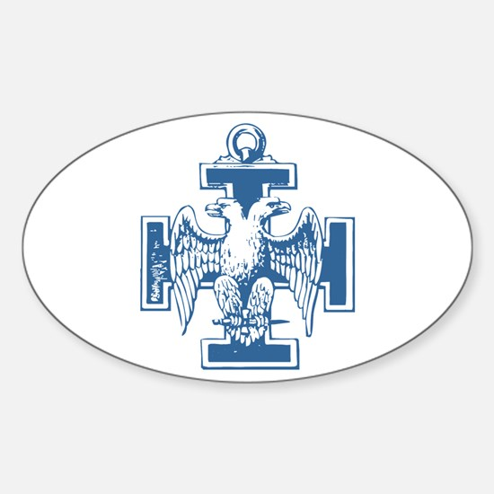 Scottish Rite Oval Decal