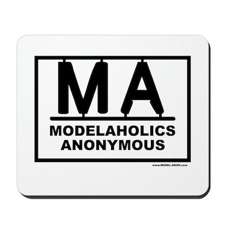 MODEL-ANON Mousepad
