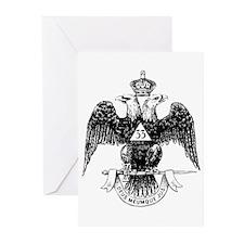 Scottish Rite 33 Greeting Cards (Pk of 10)