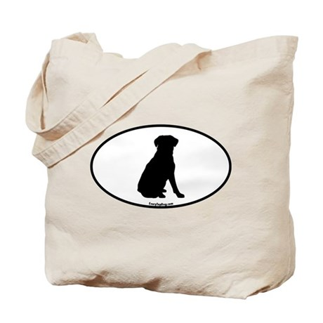 Lab Silhoutte Tote Bag
