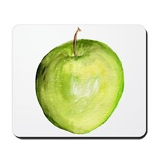 green apple Mousepad