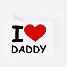 I LOVE DADDY Greeting Cards (Pk of 10)