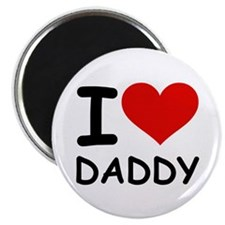 "I LOVE DADDY 2.25"" Magnet (100 pack)"