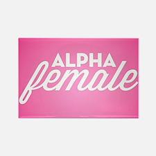 Alpha Female Rectangle Magnet