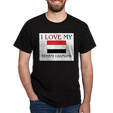I Love My Yemeni Grandma T-Shirt