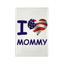 I LOVE MOMMY (USA) Rectangle Magnet (100 pack)