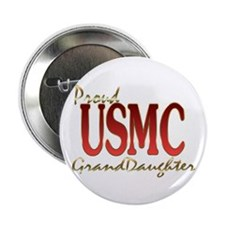 "usmc granddaughter 2.25"" Button"