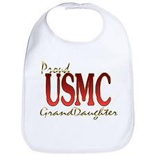 usmc granddaughter Bib