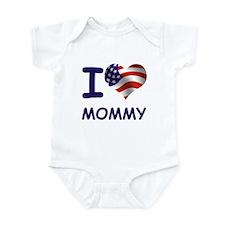 I LOVE MOMMY (USA) Infant Bodysuit