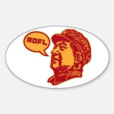 roflmao Oval Decal