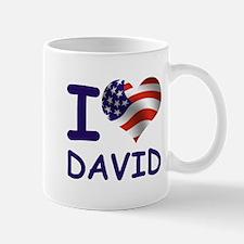 I LOVE DAVID (USA) Mug