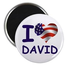 I LOVE DAVID (USA) Magnet