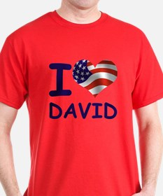 I LOVE DAVID (USA) T-Shirt
