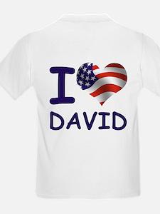 I LOVE DAVID (USA) T-Shirt