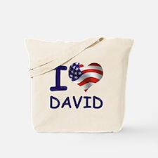 I LOVE DAVID (USA) Tote Bag